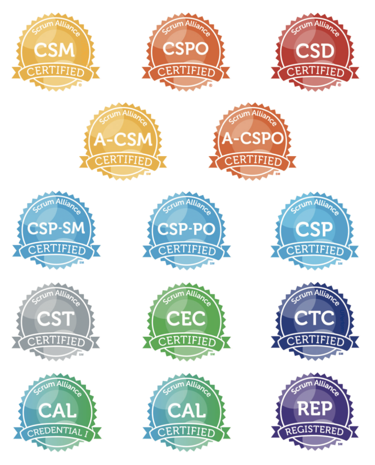 scrum certifications